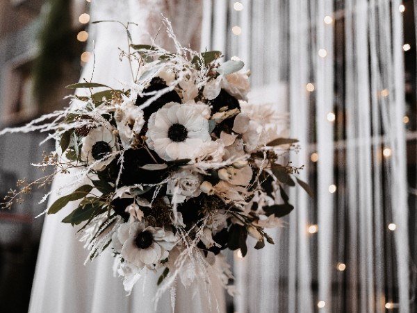 black white hochzeit inspiration industrial chic elasbraeute mainz 19